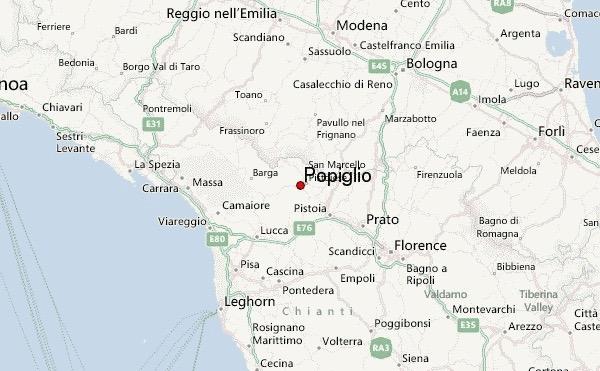 Popiglio map